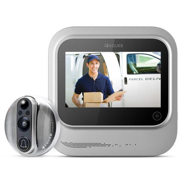 Умен видеодомофон за врата с WiFi
